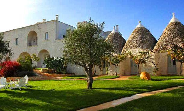 puglia masseria cervarolo    Puglia – Karakteristieke masseria en trulli met zwembad