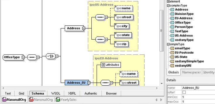 Altova XMLSpy® 2015 is the industry's best-selling XML editor for modeling, editing, transforming, and debugging XML-related technologies. It offers the world's leading graphical schema designer, a code generator, file converters, debuggers, profilers, full database integration, support for XSLT, XPath, XQuery, WSDL, SOAP, XBRL, JSON, and Office Open XML (OOXML) , plus Visual Studio and Eclipse integration, and more.