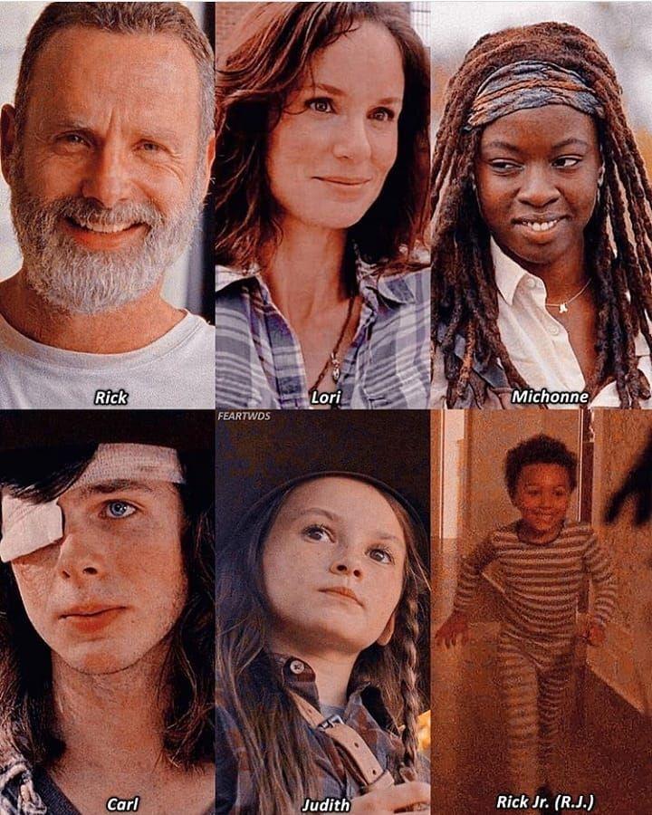 Choose your fav - Rick, Carl, Michonne #twdamc #twd #negan