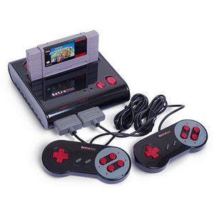 Retro Duo NES/SNES Game System   ThinkGeek