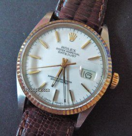 Rolex Date Just Gold/Stahl Oyster Perpetual Automatik 36mm