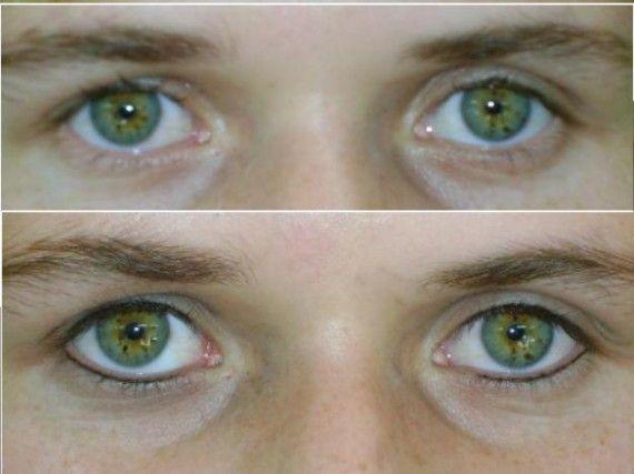 Maquiagem Definitiva nos Olhos diferença 570x427 Maquiagem Definitiva nos Olhos