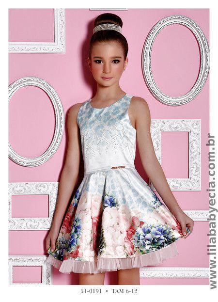 Vestido Infantil Miss Cake Doce Princesa 510191