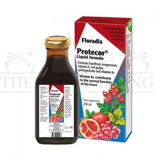 Flоradix Защита за Сърцето, 250 мл.    Floradix Защита за сърцето съдържа витамин B1, който допринася за нормалната сърдечна функция. Магнезият от своя страна допринася за нормалната функция на мускулите и нервната система. Продуктът съдържа още плодове глог, червено грозде и нар.