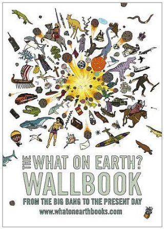 Chris Lloyd with his amazing and HUGE  What on Earth Wall books is back by popular demand. Fascinating facts for all!.