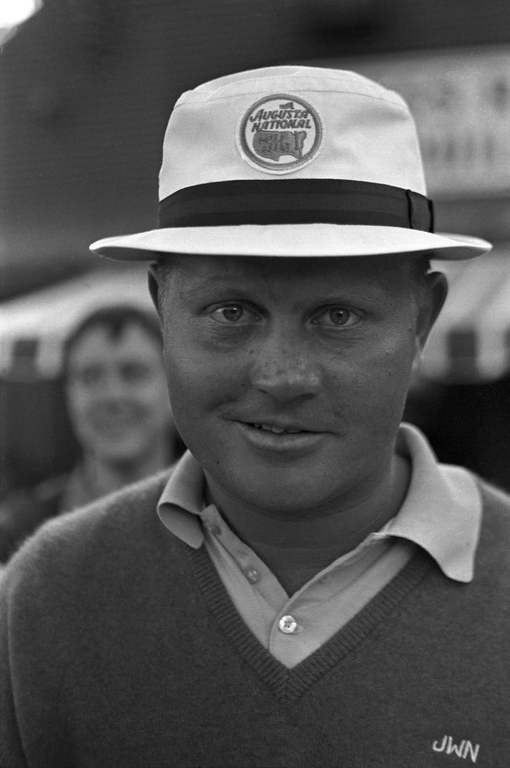 Jack Nicklaus poses at the 30th Masters tournament at the Augusta National Golf Club in Augusta, Ga., April 7, 1966. Nicklaus won his third Masters golf championship. #golf #legend