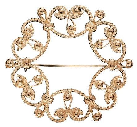 SUOTNIEMI BROOCH, material: 14 carat gold