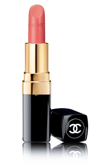 my everyday lipstick for work is Chanel Rouge COCO in Mademoiselle. It's so moisturizing I don't need lip balm!