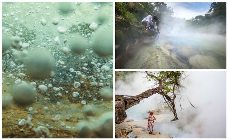 En lo profundo del Amazonas existe un río tan caliente que puede cocinar vivos a los animales que nadan en el