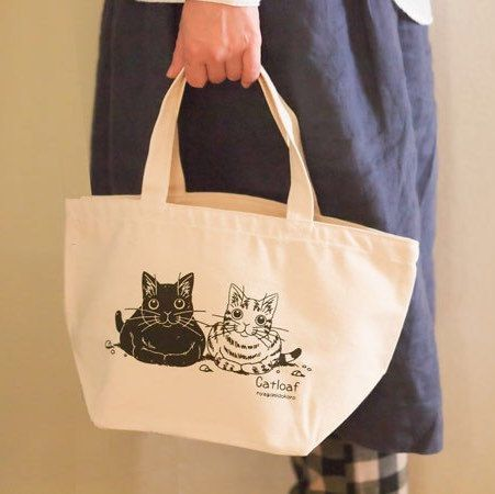 just listed catloaf canvas tote bag on my Etsy shop!