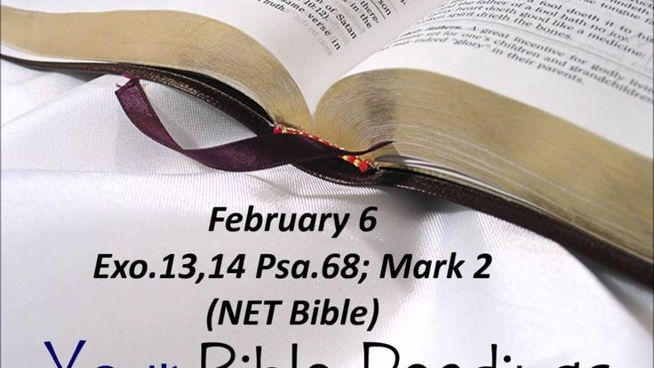 Your Bible Readings for February 6
