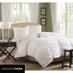 White Textured: Duvet Sets, White Beds, Comforter Sets, Duvet Covers Sets, Madison Parks, Home Kitchens, Guest Rooms, Beds Sets, Parks Delancey