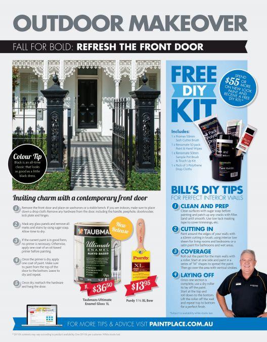Outdoor Makeover: Refresh the front door!