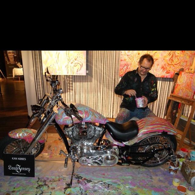 Lauge Jensen Danish motorcycle producer.