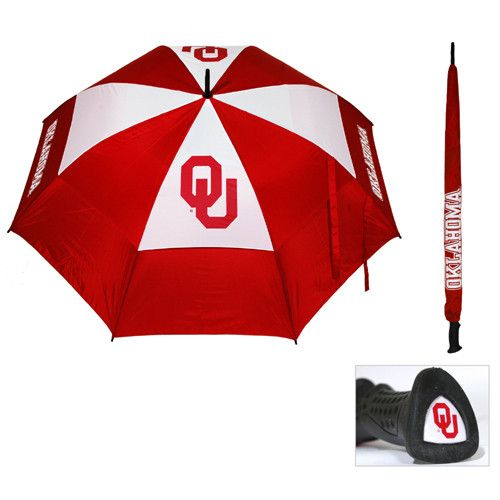 Oklahoma Sooners NCAA 62 inch Double Canopy Umbrella