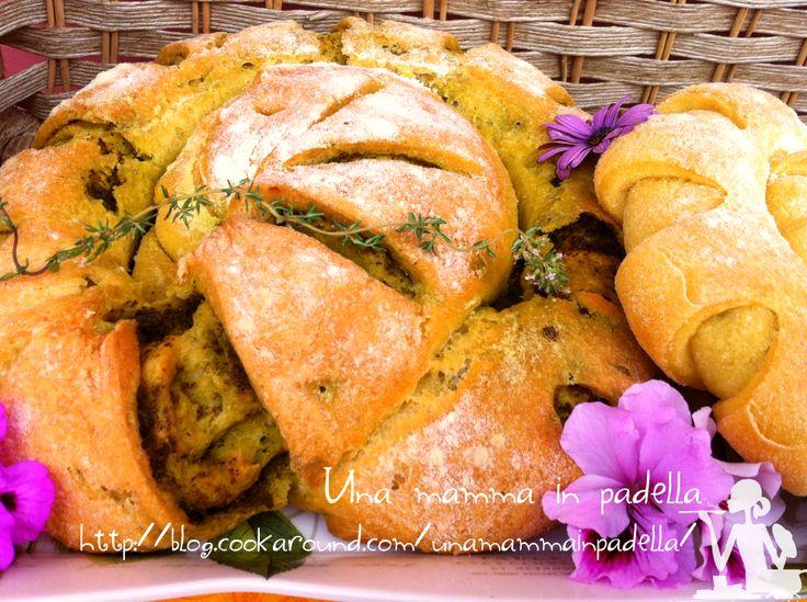 Pane di Altamura al Pesto