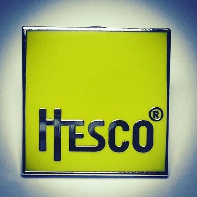 How nice are the colour of these pin badges produced for our client Hesco! #pinbadges #enamelpins #pins #pingame #pingamestrong