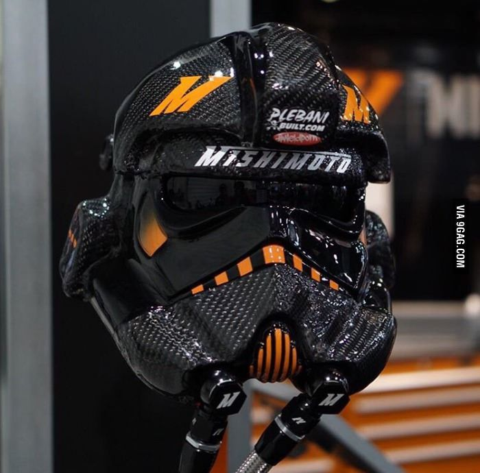 Badass welding hood: stormtrooper edition