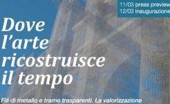 Edoardo Tresoldi 'riveste' la basilica di S.Maria di Siponto