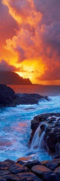 what a shot!!! Kauai, Hawaii