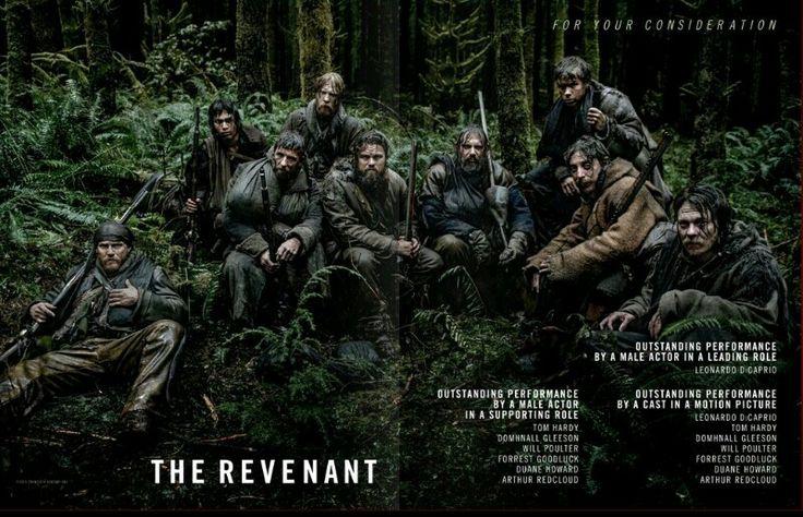 The Revenant cast Tom Hardy