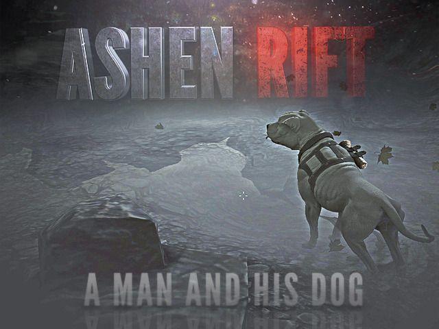 Ashen Rift: A man and his dog.