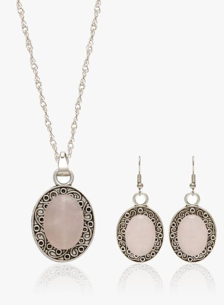 Buy Trend Arrest Jwpe2001 Pink Pendant Set for Women Online India, Best Prices, Reviews | TR744JW22IJDINDFAS