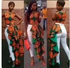 Image result for african pants suit for ladies