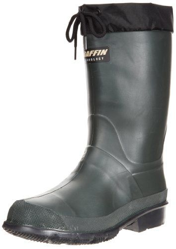 Baffin Men's Hunter Waterproof Boot -  	     	              	Price: $  54.99             	View Available Sizes & Colors (Prices May Vary)        	Buy It Now      From trek to tree stand, you'll come to rely on the Baffin Hunter boot. This performance men's pull-on waterproof hunting boot has a combination...