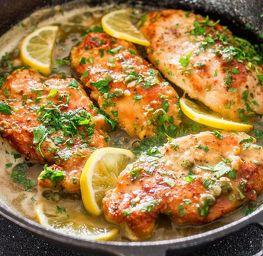 healthy lemon chicken from cheekyandchunky.com #food #healthy #yummy #recipe #cheekyandchunky #blog #delicious