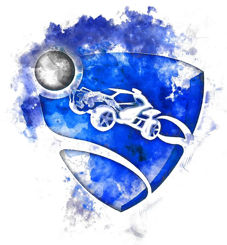 Rocket League Logo Painting Things For New House Pinterest
