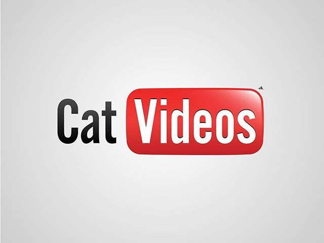 Thanks to all my new (and old) followers! I thought I'd post my previous series of #honestlogos from 2011 - #1 CatVideos. #adbusting #parody #logo #satire #graphicdesign #viktorhertz #youtube #cats #catvideos