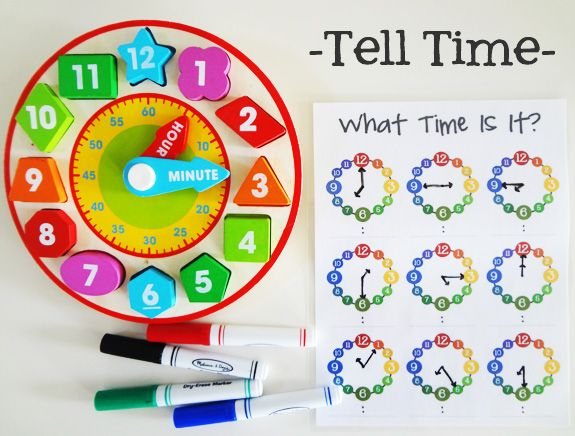 Teach your #children to tell time - free downloadable printable ...
