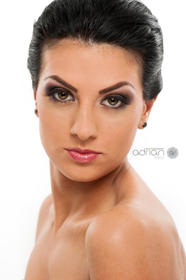 Beauty shot - make-up