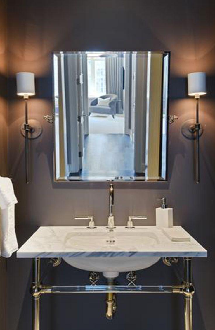 Ritz-Carlton condo with half bath complete with marble sink