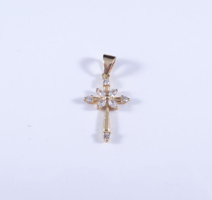 $108 14K Gold Pendant , info@bijuterie-online.ro.
