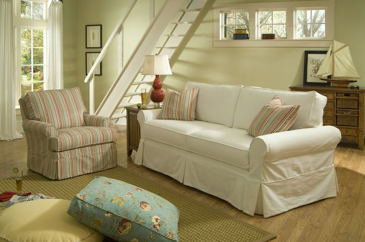 Bored of your current look? Recreate and protect your furniture with our slipcovers! We've got you covered.