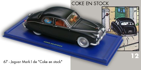 67 - Jaguar Mark I - Coke en Stock