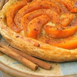 Fresh Pumpkin Tart by SeasonalSavory