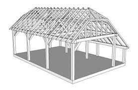 Afbeeldingsresultaat voor bouwtekening kapschuur