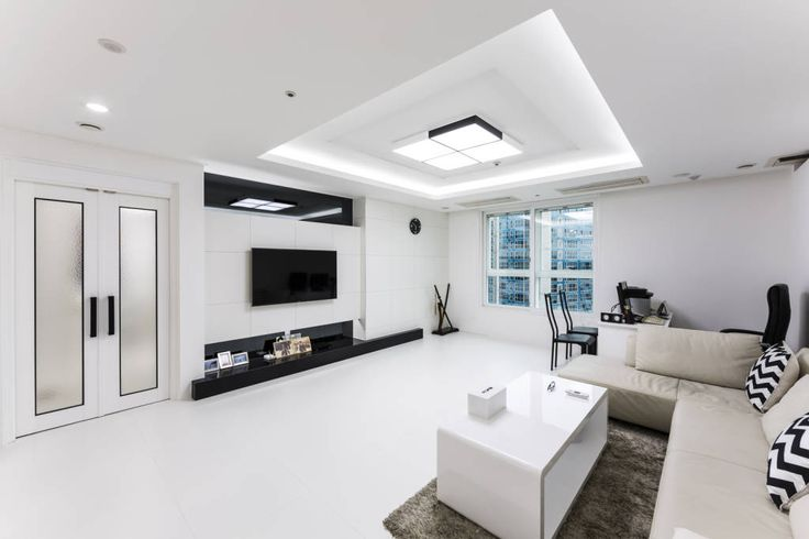 흑과 백이 만드는 아름다움-35평 아파트 인테리어 (출처 Juryeong Kuhn)