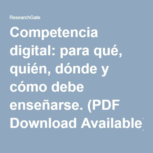 70 best Competencias images on Pinterest Flipped classroom - copy la tabla periodica moderna pdf