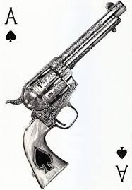 Image result for i aim to misbehave revolver tattoo