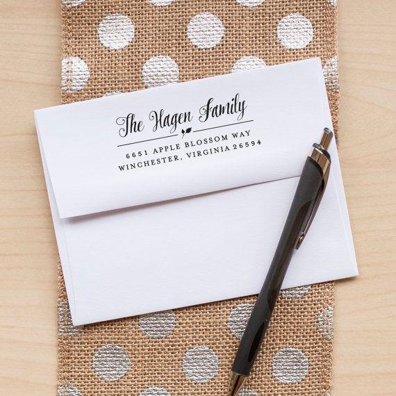 Benutzerdefinierte Adresse Stamp Absenderadresse von starboardpress