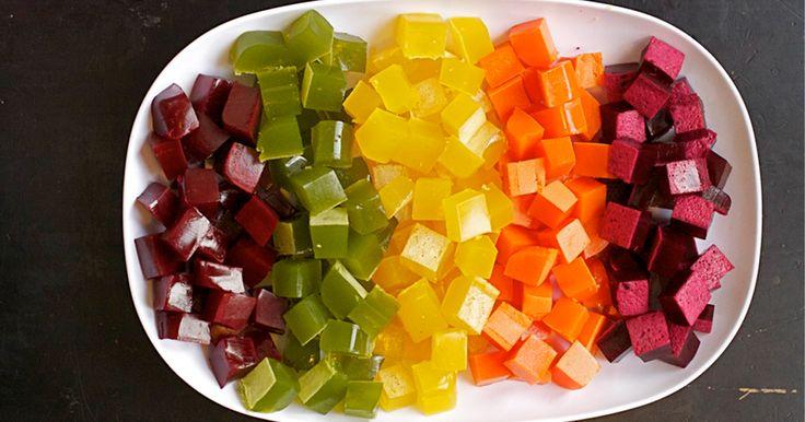 Dietní domácí želé bonbóny - spousta vitamínů a žádný přidaný cukr