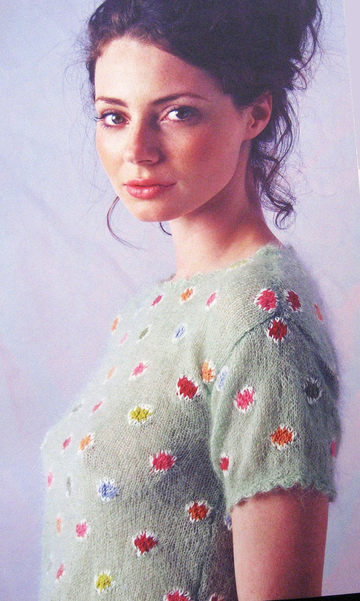 Rowan Magazine 53 (British knitting/crochet company) - Pixie by Kaffe ...