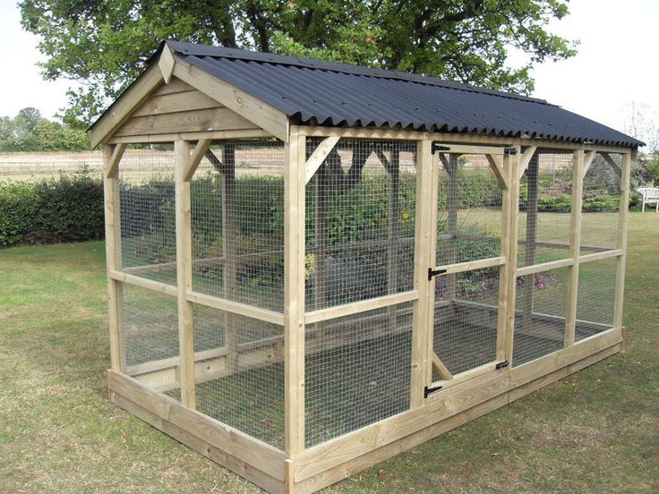 I like this because it could serve for chickens, ducks, or a bird aviary.