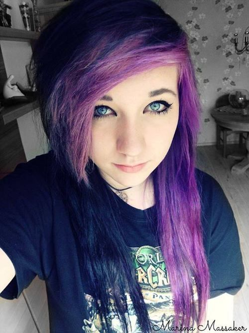 17 best images about emopunkgothscene hair cuts on