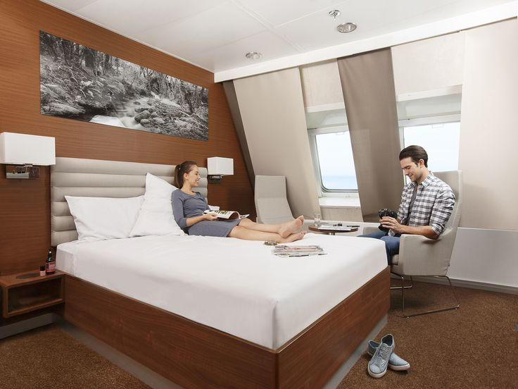 Spoil yourself in our fully refurbished Deluxe Cabins