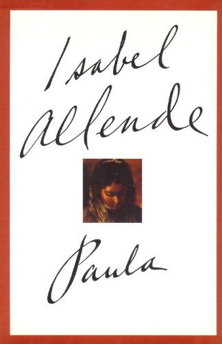 Paula is a powerful and very personal memoir that Isabel Allende wrote while being at her daughter's side at the hospital after she fell gravely ill and she needed to express her thoughts, concerns and feelings.